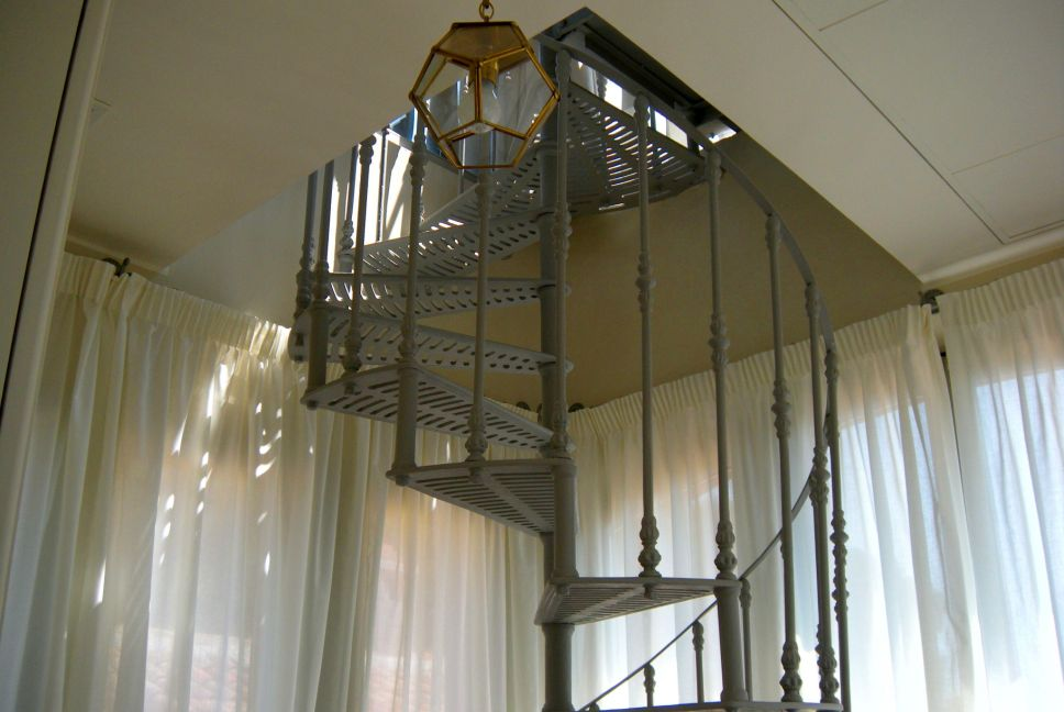 Tower spiral staircase